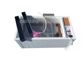 Инкубатор «БЛИЦ НОРМА ЛУППЕР» на 72 яиц (автоматический переворот, цифровой терморегулятор, вентилятор, возможность подключения аккумулятора 12 Вольт)