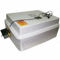 Инкубатор «Несушка-36-АГ+12» на 36 яиц (автоматический переворот, аналоговый с цифровым дисплеем, возможность подключения аккумулятора 12 Вольт)