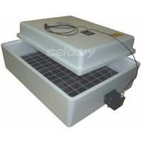 Инкубатор «Несушка 63-A+12В» на 63 яйца (автоматический переворот, аналоговый с цифровым дисплеем, возможность подключения аккумулятора 12 Вольт)