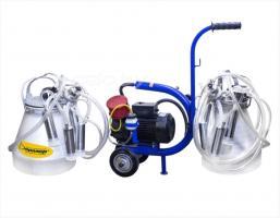 Доильный аппарат «Фермер АДЭ-03Т» ТАНДЕМ (мотор-насос масляного типа, асинхронный двигатель)