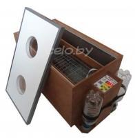 Инкубатор «БЛИЦ 120-Ц» на 120 яиц (автоматический переворот, цифровой терморегулятор, вентилятор, возможность подключения аккумулятора 12 Вольт)