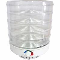Сушилка для овощей и фруктов ЭСОФ-0,5/220 Ветерок 2 (5 подднов, прозрачный)
