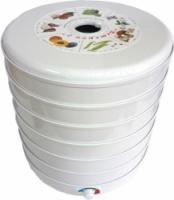 Сушилка для овощей и фруктов ЭСОФ-0,6/220 Ветерок-2 (6 подднов, белый)