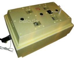 Инкубатор «Золушка А-98» на 98 яиц (автоматический переворот, аналоговый терморегулятор, цифровой градусник)