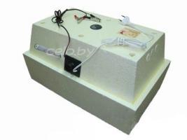 Инкубатор «Золушка  А-28+12В» на 28 яиц (автоматический переворот, аналоговый терморегулятор, цифровой градусник, возможность подключения к аккумулятору 12 Вольт)